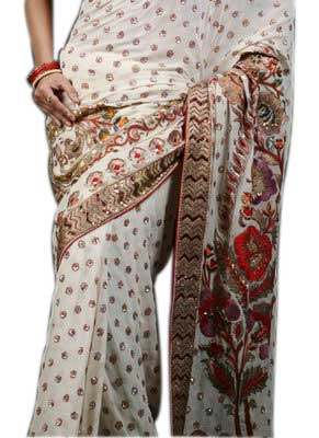 Embroidered Saree 2